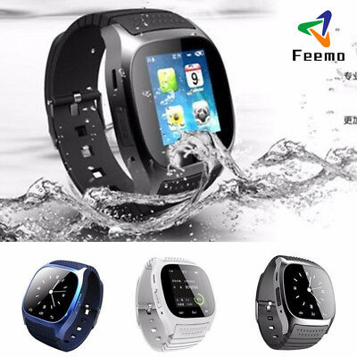 M26 Wrist Waterproof Bluetooth Smart Watch Phone Mate For Android/iOS LG iPhone