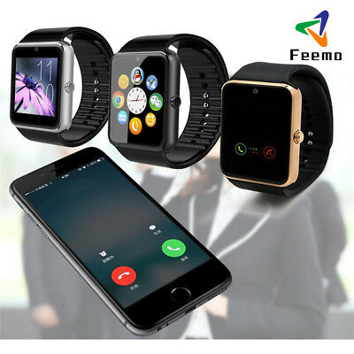 GT08 Bluetooth Smart Watch GSM Phone SIM TF For Android/IOS Smartphone iPhone X