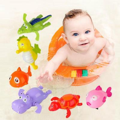 Swimming Animal Pool Toys Wind-up Toys Baby Toy Kids Bath Bathtub Time Fun AU