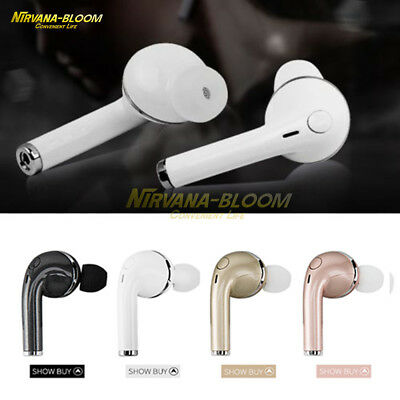 Bluetooth in-Ear Stereo Headset Waterproof Earphone for Samsung iPhone LG HTC