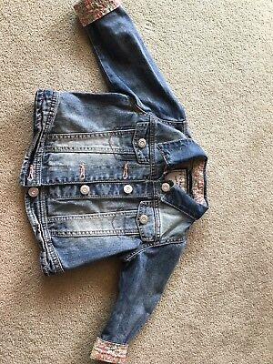 girls denim jacket 18-24 months