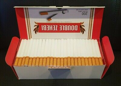 CLEARANCE 800 RED EMPTY ROLLO TUBES Cigarette Tobacco Rolling Filter Ventti ZICO