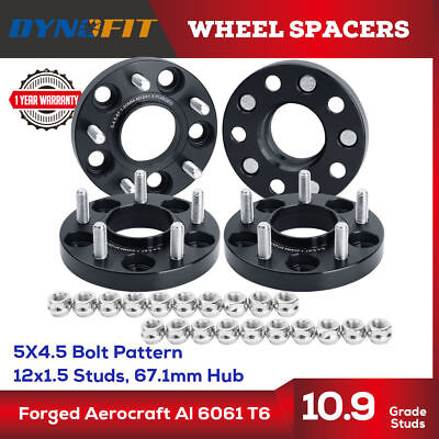 4 Pcs Wheel Spacers 5X114.3 5X4.5 67.1 CB 12x1.5 Studs 20MM For Mazda
