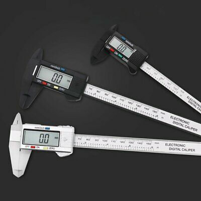 "6"" 150mm LCD Engineers Combination Square Set Kit Micrometer Measure Tool Ruler"