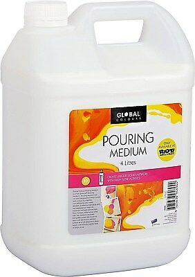 Global Pouring Medium 4 litre - SUPER FAST DELIVERY