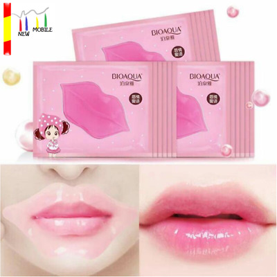 Mascarilla Gel Labios BIOAQUA Colageno Lip Sobres Parches Acido Hialuronico Mask