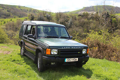 Land Rover Discovery 2 Pre Production Prototype 1998 TD5 one of the oldest