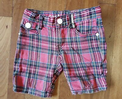 Rock your baby RYB boys designer rock-a-billy punk summer winter shorts size 2