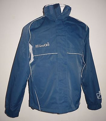 New KooGa Queensland II Rugby Sports Jacket Navy/Silver Adult size S M XL