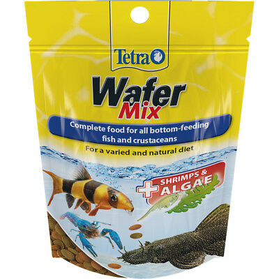 Tetra Wafer Mix Complete Food 68g Bottom Feeders Crustaceans