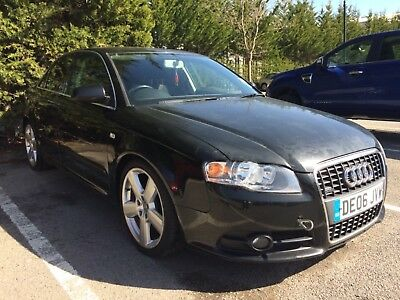2006 Audi A4 S line 2.0 Diesel spares or repair No reserve relisted!!