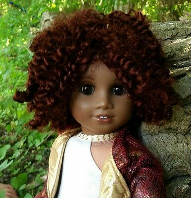 Ooak Custom doll wig for American Girl dolls in The Rhianna