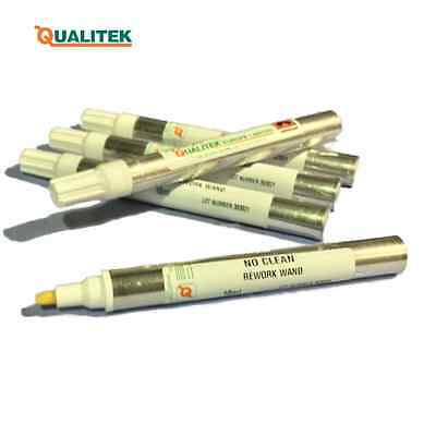 Qualitek No Clean Flux Rework Pens - NCRW wands rework wands soldering rework