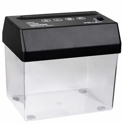 Schoffice New Mini Desktop Paper Strip-cut USB Shredder Portable Paper & Letters