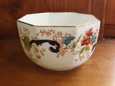 Gaudy Welsh sugar bowl, delicate antique (?) china