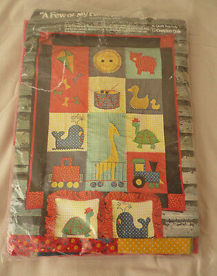 """A Few of My Favourite Things"" Quilt Kit - Child"