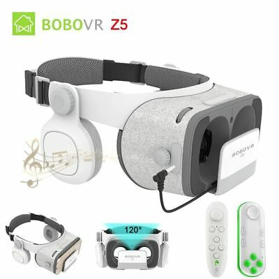 Update BOBO VR Z5 120 FOV 3D Cardboard Helmet Virtual Reality Glasses Headset St