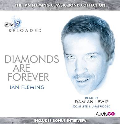 Diamonds are Forever by Ian Fleming 6 AUDIO CD BOOK NEW & SEALED 007