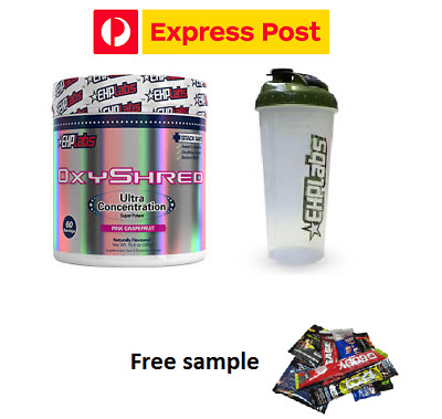 Ehplabs Oxyshred  Ehp Labs  Oxy Shredthermogenic Fat Burning & Shaker & Express