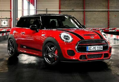 Genuine New Mini F55 F56 F57 JCW Front Grill Chilli Red Strip 51137393456