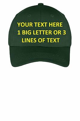 Youth Baseball Cap Team,Kid Junior Custom Embroidered Text YCP80
