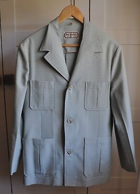 Vintage 70's MR GARRY Safari Jacket