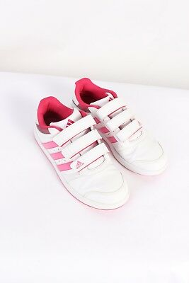 d4501a937f2 VINTAGE ADIDAS THREE Stripes Shoes UK 5.5 Pink S452 - £28.00 ...