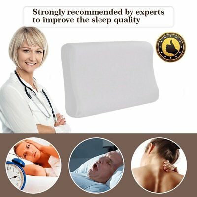 Breathable Comfortable Elastic Memory Foam Slow Rebound Contour Sleep Pillow YG