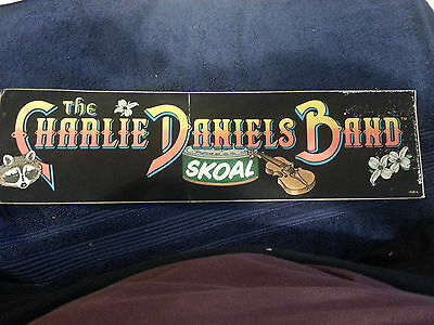 Vintage The Charlie Daniels Band-Fire on the Mountain Bumper sticker