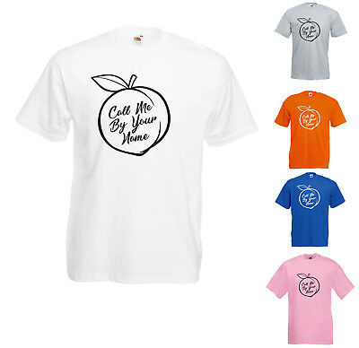 Call Me By Your Name Peach Scene Printed T-Shirt