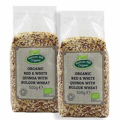 Organic Red, White Quinoa & Bulgur Certified Organic
