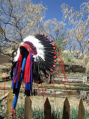 Spotted Tail Warbonnet