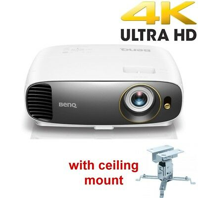BenQ W1700 True 4K UHD HDR Home Cinema Projector with BONUS Ceiling Mount