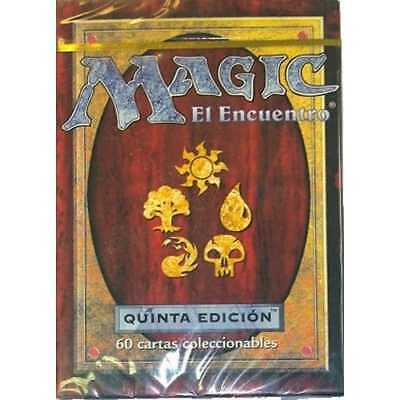 MTG FIFTH EDITION * Fifth Edition Starter Deck [SPANISH]