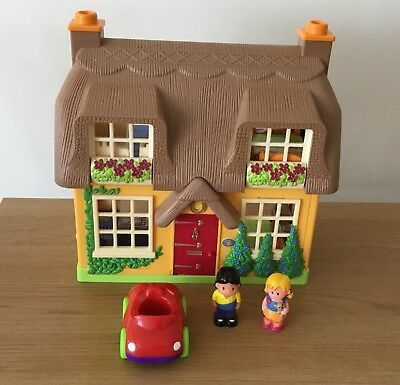 ELC EARLY LEARNING Centre Happyland Rose Cottage Toy House. - £10.99 ...