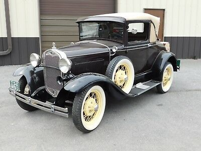1930 Ford Model A  1930 Ford Model A Deluxe Roadster