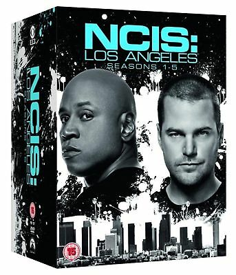 NCIS LA LOS ANGELES COMPLETE SERIES 1 2 3 4 5 DVD Box Set All Season Episodes