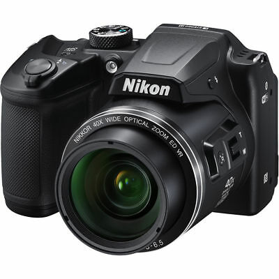 Nikon COOLPIX B500 16MP Digital Camera Black 2016 PX