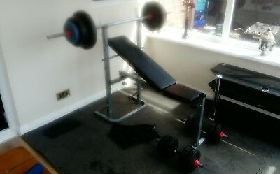 bench press and weights ONE DAY AUCTION