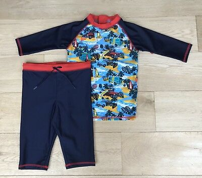 MARKS & SPENCER *4-5Y SUN SAFE SWIM Wear SUIT Costume AGE 4 - 5 YEARS