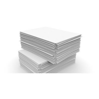 100 Sheets A4 80Gsm Paper Bright White Printer Copier Office Home Free Post