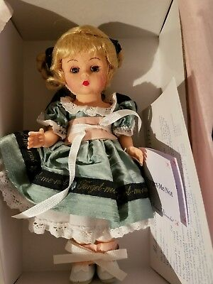 "PERFECT Madame Alexander Doll ""WENDY'S FORGET ME NOT"" Never Removed From Box."