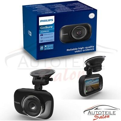 Philips GoSure ADR820 Dashcam 140-Grad-Weitwinkelformat
