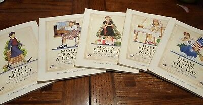 American Girl - Molly books - books 1-5