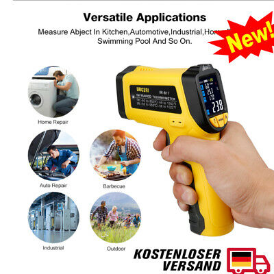Infrared Thermometer Digital IR Temperature Non Contact Laser -50°C~550°C