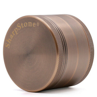 "New 2.47"" Bronze Tobacco Herb Spice Herb 4 Layers Smoke Crusher Grinder"