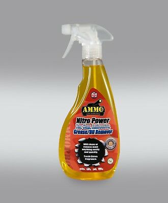 Ammo Nitro Tar, Sap, Adhesive, Grease, Oil Remover! Amazing Citrus Based Cleaner
