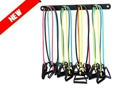 Wall-Mounted Storage for Skipping rope, Resistance bands, Power bands or Lift...