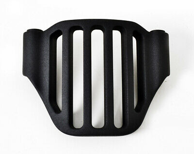 """3"""" Open Belt Primary Cover Pulley Guard Billet Black Grill For Ultima Harley"""