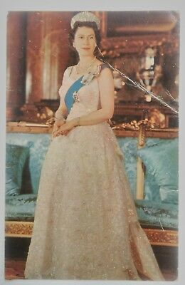 H.M. QUEEN ELIZABETH II Post Card R.122 Colour transparency by Anthony Buckley